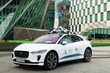 谷歌发布首辆电动街景采集车捷豹I-Pace