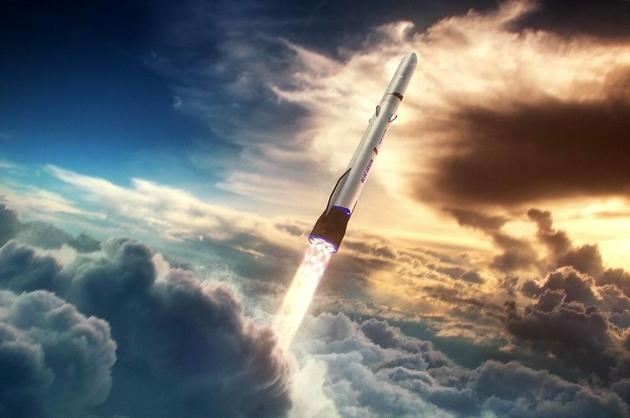贝索斯也将飞往太空交通工具比布兰森传统了点
